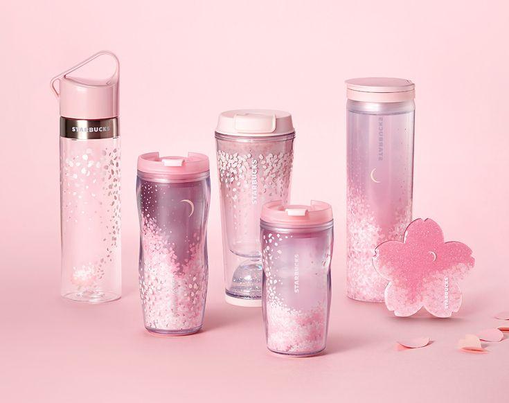 Cherry Blossom illustration & merchandise design for Starbucks Korea, by De Yool Studio www.deyool.com