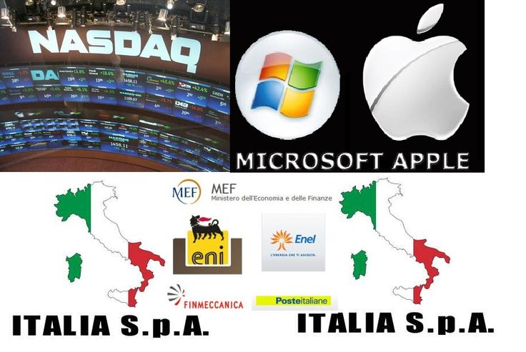 """Questa notte sono stati diffusi i dati di bilancio di #Apple e #Microsoft.  Oggi il #Nasdaq100 toccherà quota 4.000 punti oltre il target di 3.700 punti segnalato in passato ( vedi http://www.tradingroomroma.it/nasdaq100-quota-il-6875-del-massimo-storico-target-3700/) ? Le #tecnologie guidano la ripresa #americana, l' #Italia di #Renzi invece svende i  propri """"gioielli industriali"""" agli stranieri. Cosa potrà salvare il nostro #sistema #finanziario e la nostra #economia reale?"""