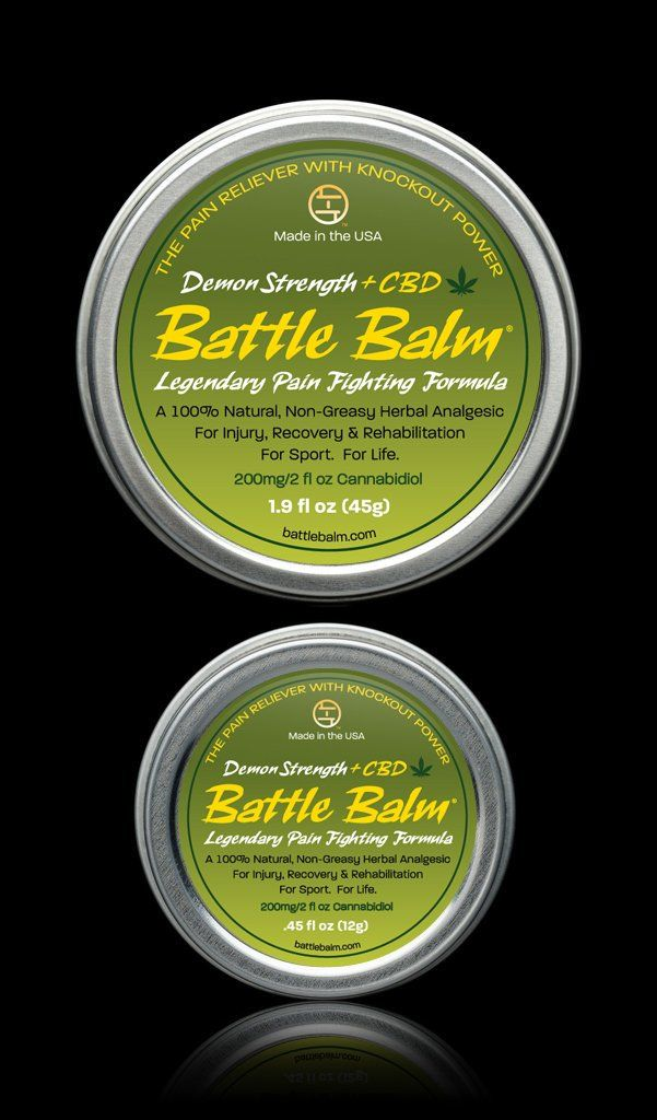 Battle Balm® - Demon Strength + CBD - Battle Balm | All