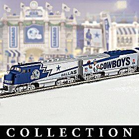 Dallas Cowboys Express Train Collection