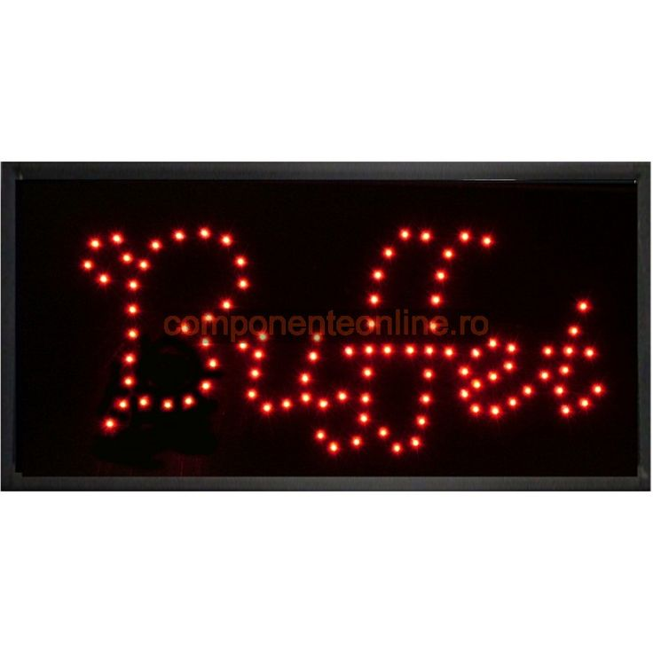 Afisaj cu LED-uri, afisaj Buffet - 113635