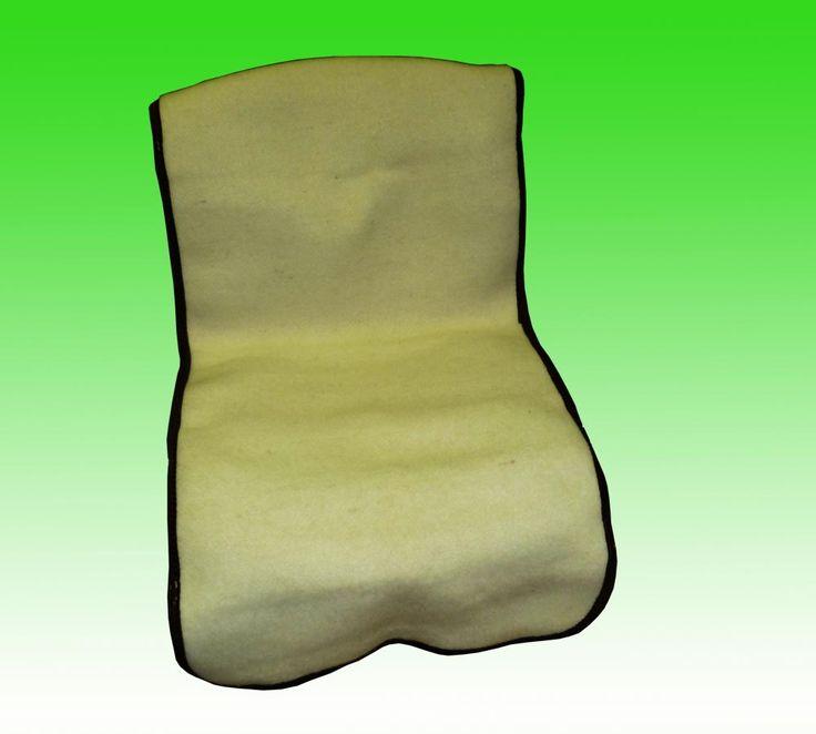 Лечебная накидка на автомобильное сидение из натуральной шерсти