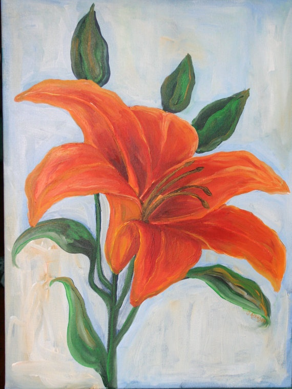 23 best images about Art on Pinterest | Tiger lilies ...