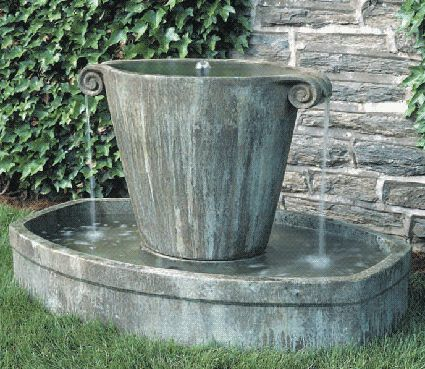find this pin and more on garden fountains
