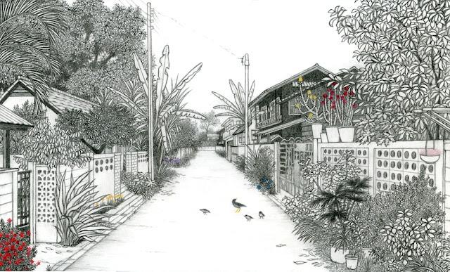 Dal Giappone: Yukiko Suto disegni che ispirano la primavera e la voglia di iniziare a colorare i nostri terrazzi.  Leggi il mio post!