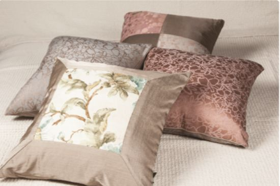 Persimmon Eco Cushion  감에코 쿠션 40-countthread Cotton Luxury Jacquard + Rayon 면40수 고급자카드 + 인견 40cm × 40cm      ₩58,000