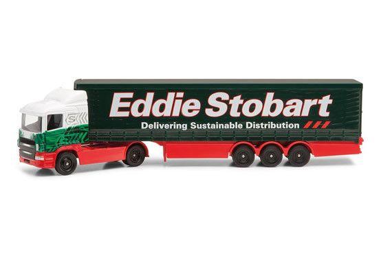 Eddie Stobart Curtainside Truck