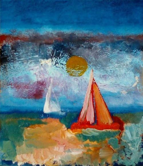 Paintings - JOLLIES 2 - AN ORIGINAL PAINTING BY CELESTE FOURIE-WIID for sale in Hermanus (ID:308465142)