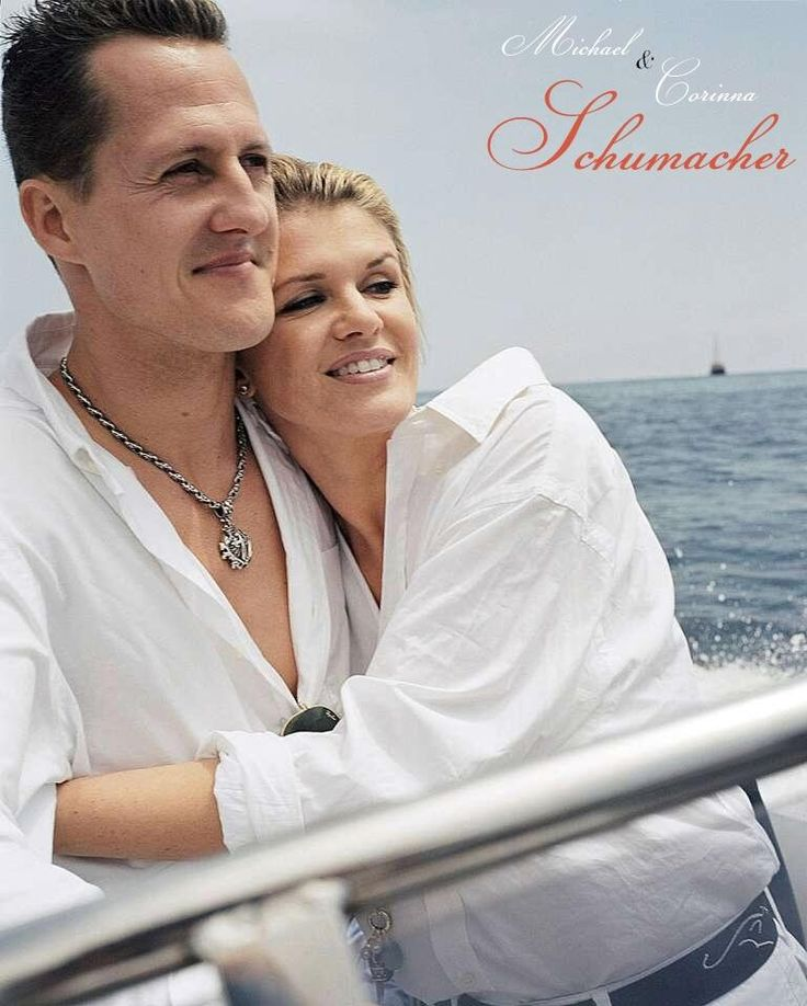 The golden couple of F1 - Michael & Corinna Schumacher #GetWellSoonSchumi you will enjoy holiday w/ your family again pic.twitter.com/CwCrFLlpJ6
