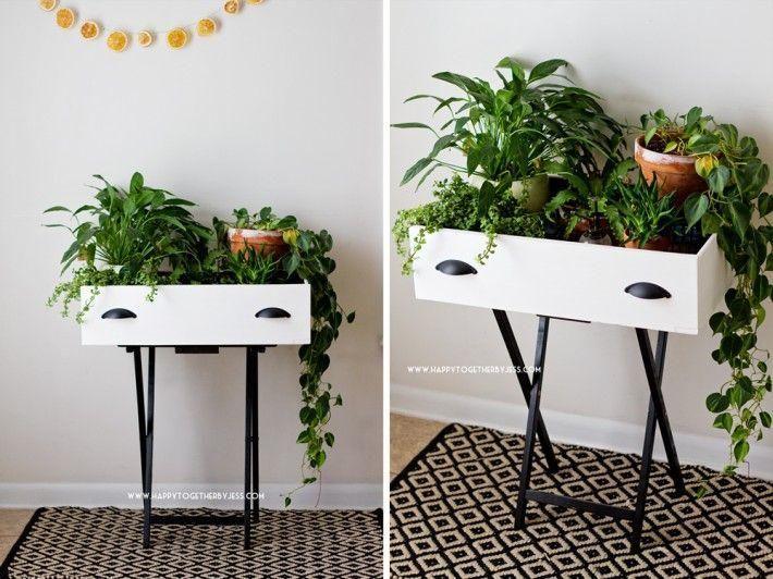Ideas geniales para dar una segunda oportunidad a los cajones de tus muebles antiguos.