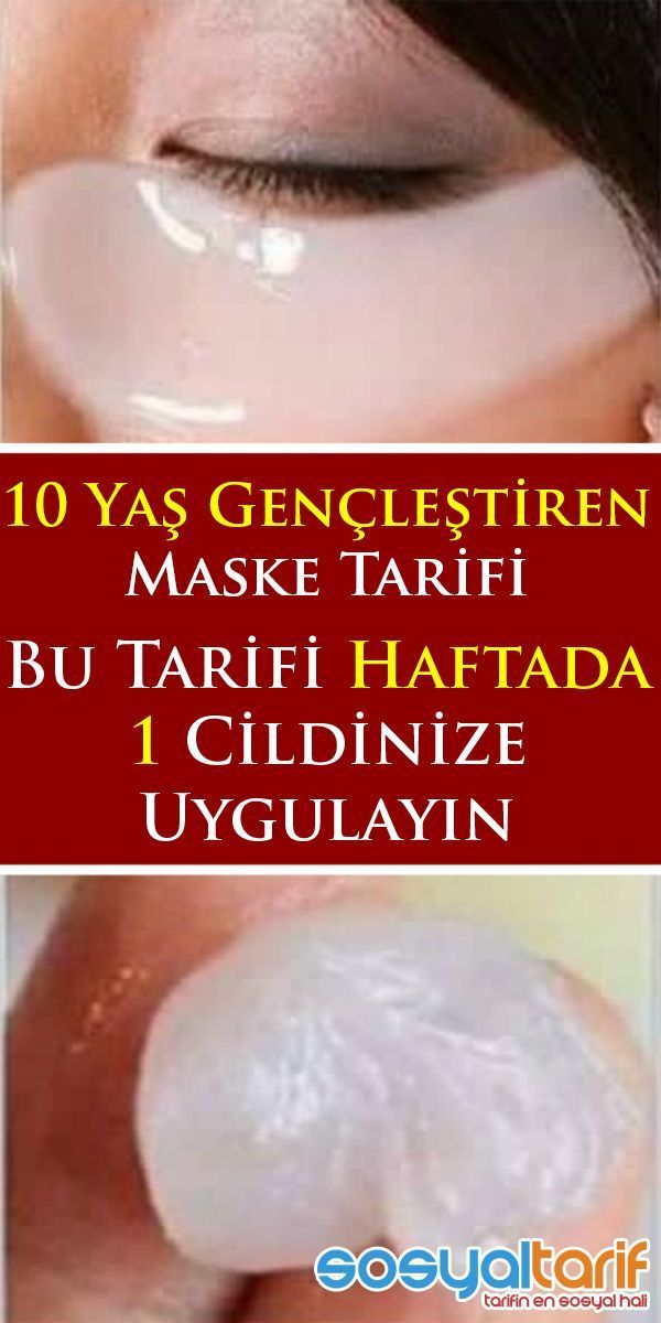 10 Yaş Gençleştiren Maske Tarifi – #Gençleştiren #MASKE #TARİFİ #yaş – A…