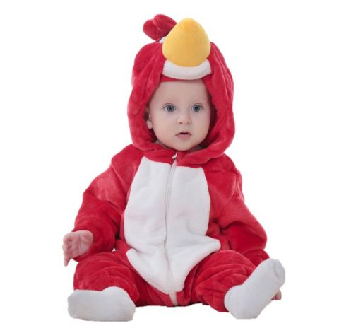 Red Bird Jumpsuit Baby Rompers **FREE+SHIPPING**