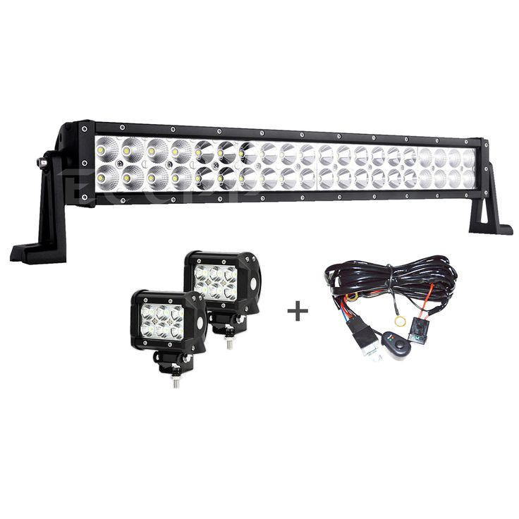 8 best led light bar images on pinterest atv atvs and dirtbikes 24 inch 120w curved light bar flood spot combo extremely lighting aloadofball Gallery