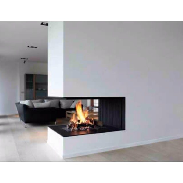 34 best 3 Sided Fireplaces images on Pinterest | Fireplace ideas ...