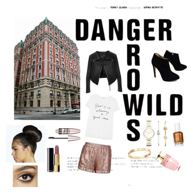 let's get lost by kidoulini on Polyvore featuring polyvore, fashion, style, Sundry, Jaded London, FOSSIL, Giuseppe Zanotti, Cachet, Chanel, Linea Pelle, Charlotte Tilbury, Maybelline, Prada and Boohoo