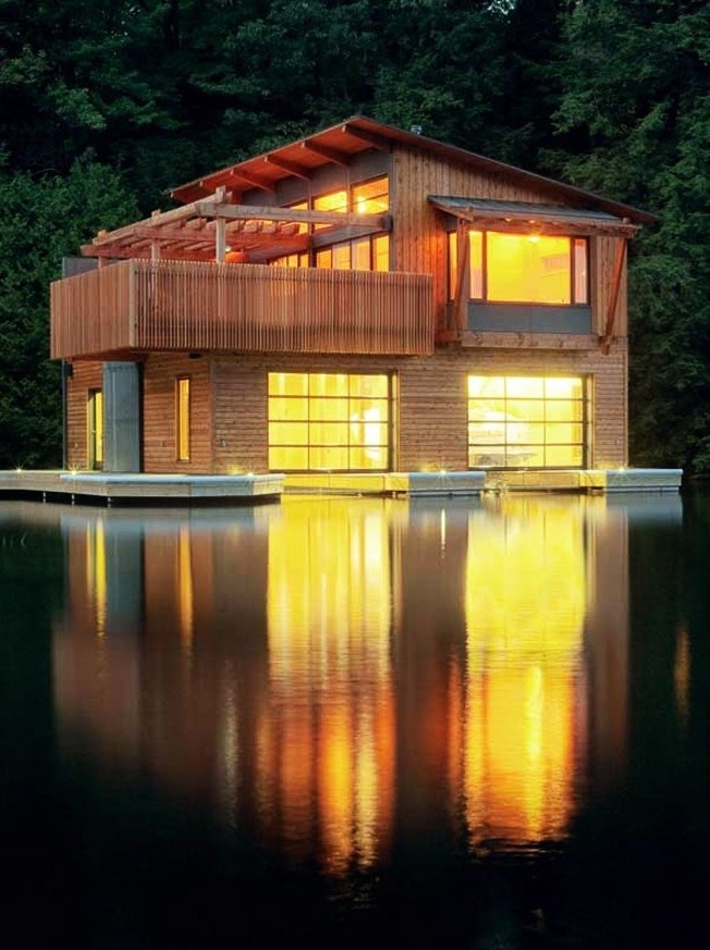Boat House...on water during the day and chillin in the boat house at night! Perfection