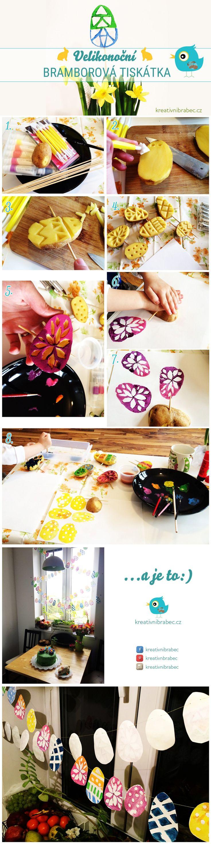 Hledáte další jednoduchý způsob, jak si s dětmi užít trošku legrace a zároveň vyrábět něco zajímavého a tématického? Tak to jsou tady razítka vyrobená z brambor právě pro vás:) Velice jednoduchý zp…