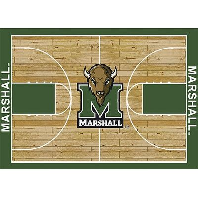 My Team By Milliken NCAA College Home Court Marshall Novelty Rug Rug Size:  10u0027