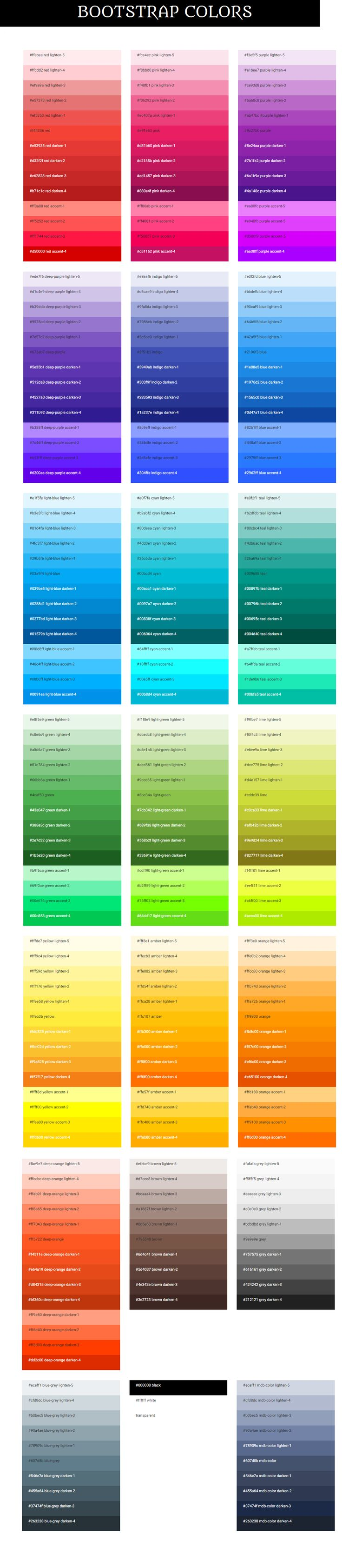 32 best flat ui colors images on pinterest collar pattern color bootstrap full palette colors each color might be exposed in various tones varying from bright to dark they all are collated in accessible section geenschuldenfo Gallery