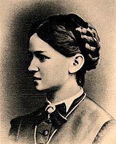 Nadezhda Rimskaya-Korsakova, née Purgold, wife of the composer