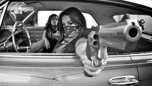 gangster girl guns - Google Search