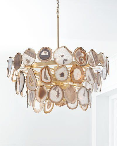 Amazing Agate Chandelier