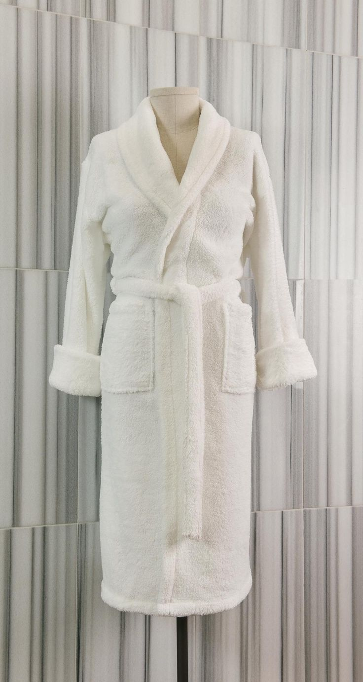 Made of poly-plush, our Velsoft Shawl Collar robe has an extremely soft, velvety feel yet remains lightweight.  Designed with a shawl collar, these robes retain a cozy warmth while absorbing moisture.  - See more at: http://www.talesma.com/eng/97/talesma--velsoft-shawl-collar-bathrobe.html#sthash.z0SXVeQK.dpuf