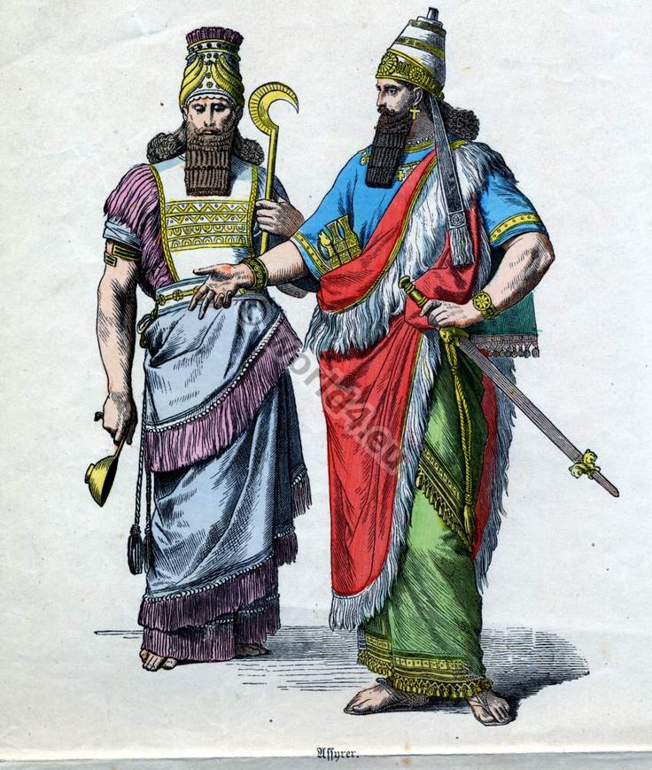 ancient-assyrian-clothing168.jpg (846×1000) | Costumes ...