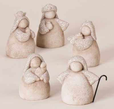 5pc Nativity Sand Glitter Look  -                                                                                                                                                     More