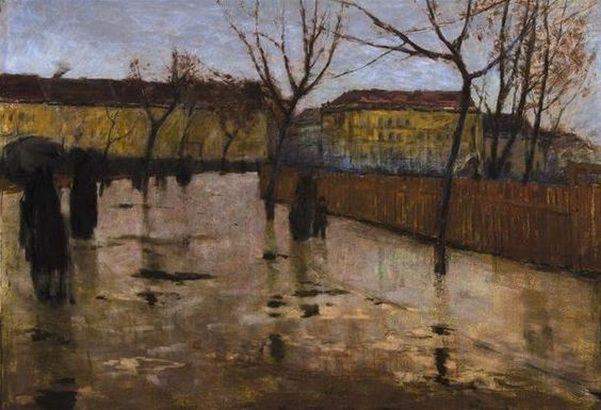 Antonin Slavicek - Letna in the Rain