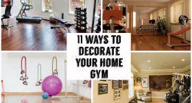 Evini dekore etmek Gym 11 Yolları