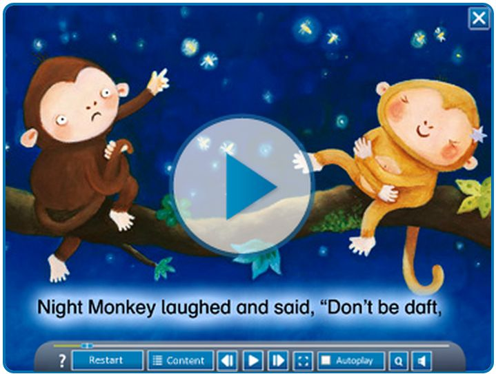 'Night Monkey, Day Monkey' digital book by Julia Donaldson, illustrated by Lucy Richards https://www.onilo.co.uk/de/boardstories/details/boardstory/night_monkey_day_monkey-1/?tx_enetboardstorywebstore_presentation%5BlistPid%5D=504&tx_enetboardstorywebstore_presentation%5Btopic%5D=&tx_enetboardstorywebstore_presentation%5Baction%5D=showPresentation&tx_enetboardstorywebstore_presentation%5Bcontroller%5D=Product&cHash=4a671a5ab2dbb641f84ff88cc6a6799e