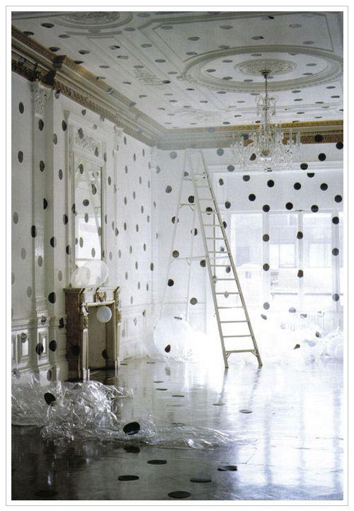 tim walker - wow: Interior, Ideas, Polka Dots, Timwalker, Tim Walker, Space, Polkadots, Design, Polka Dot Room