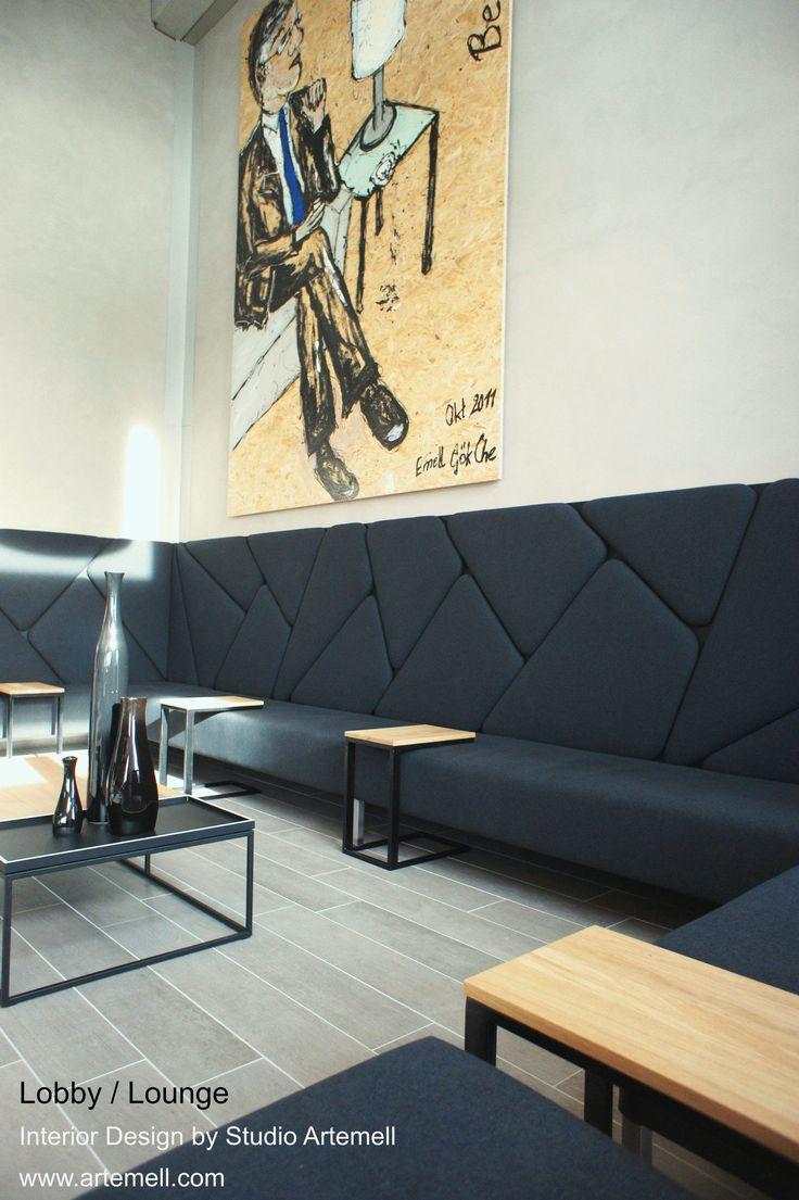 #Lobby #Lounge #Interior Design by Studio Artemell / Emell Gök Che