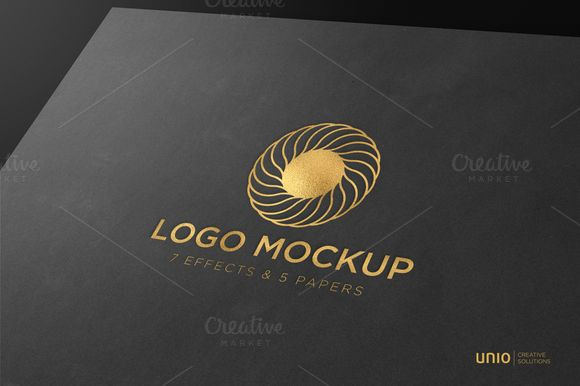Logo Mockup by Unio | Creative Solutions on @creativemarket