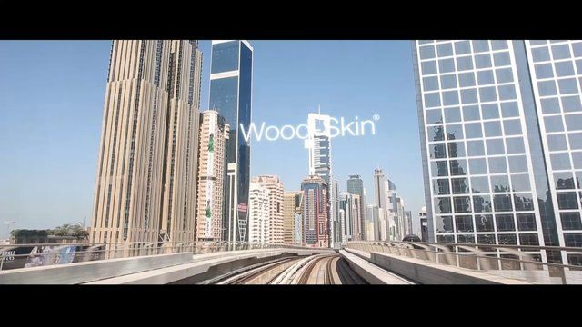 Wood-Skin® has been chosen as the main material for the new best restaurant in Dubai, check out this beautiful footage by Marcello Tomasi. #materials #freeform #organic #parametric #wood #flexible #design #innovation #digital #architecture #cladding #startup #dubai