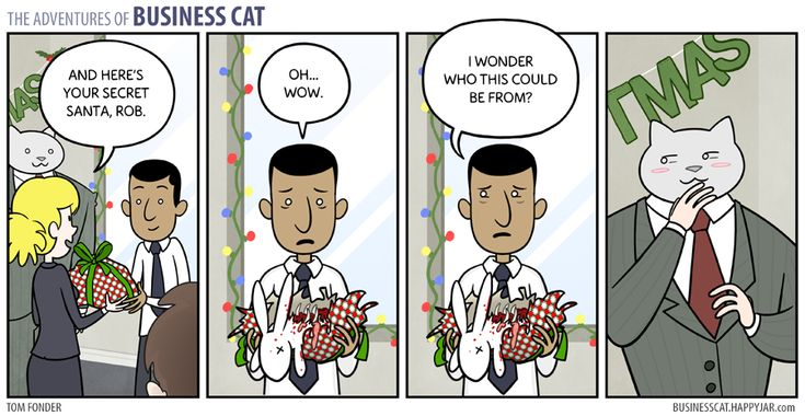 Business Cat - Secret Santa