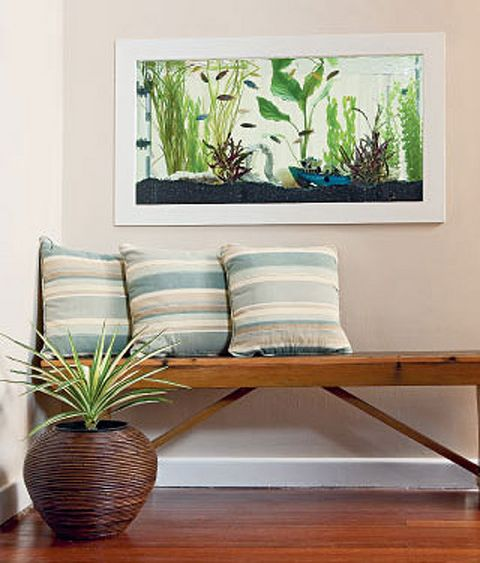 How To Make A Wall Mounted Fish Tank Better Homes And