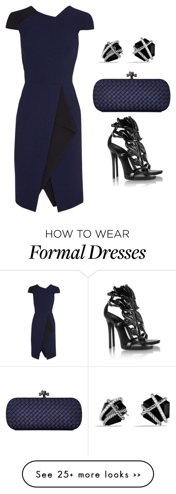 """formal dinner outfit"" by noragreece on Polyvore"