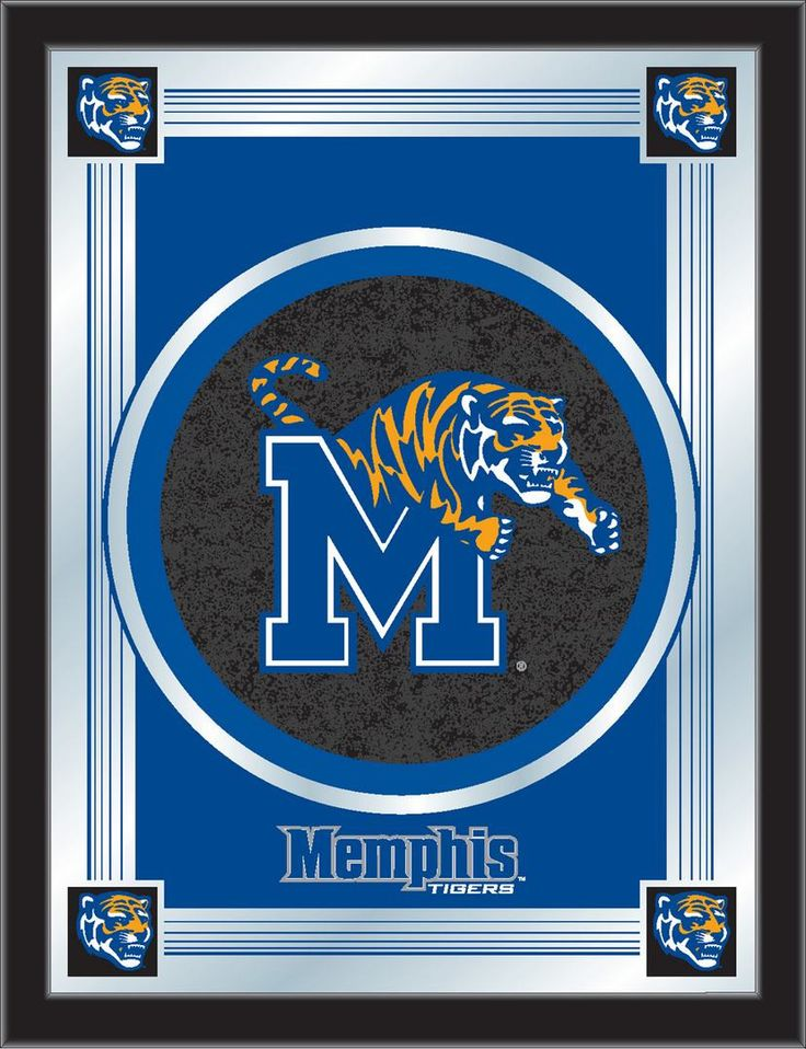 Logo Mirror University of Memphis Products, Logos and