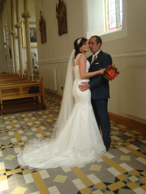 Charleen and JJ - St. Mary's Church Killybegs and The Blue Haven, Kilcar