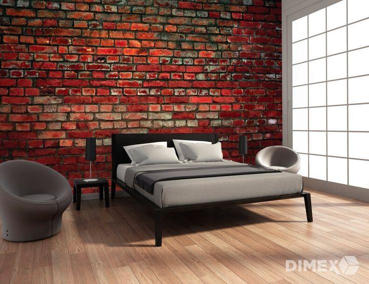 Fototapeta na stenu v imitácií tehly XL-167 | DIMEX