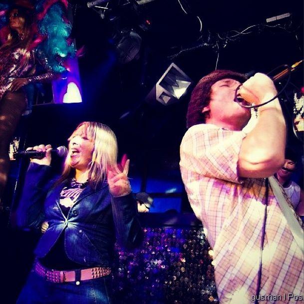 Dennis Neo and Martina Balogova live at Mecca Club Prague
