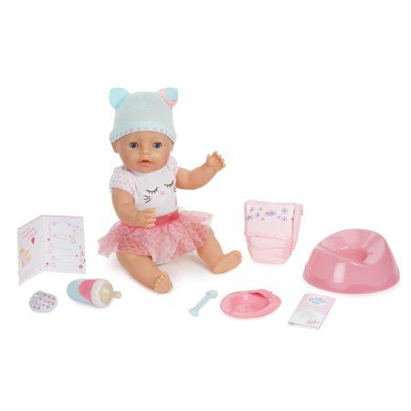 Buy Baby Born Interactive Doll Blue Eyes At Walmart Com Order Wants Interactive Baby Dolls Baby Dolls Baby Born