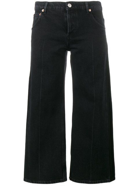 BALENCIAGA Cropped Rockabilly Jeans. #balenciaga #cloth #jeans