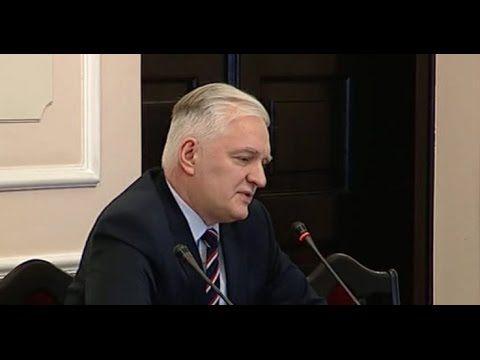 Posiedzenie komisji ds. Amber Gold, przesłuchanie ministra Jarosława Gowina 15-12-2016 - YouTube