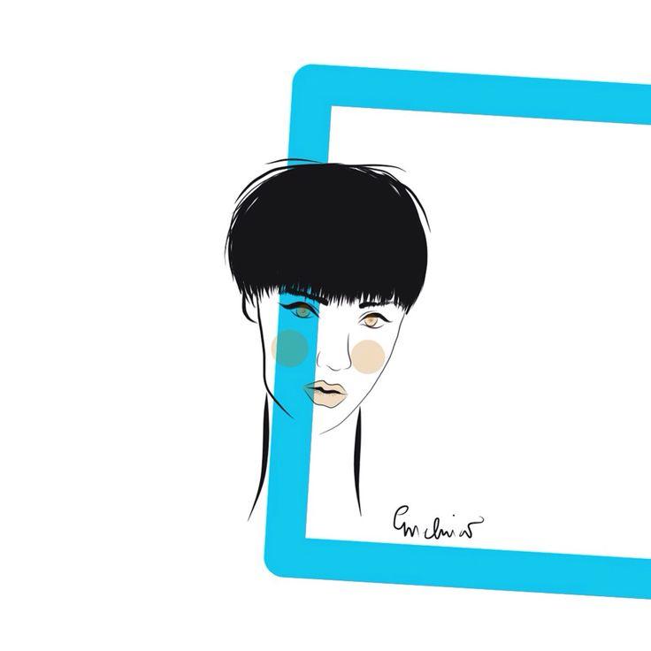Fashion Ilustration by Melina Rapimán