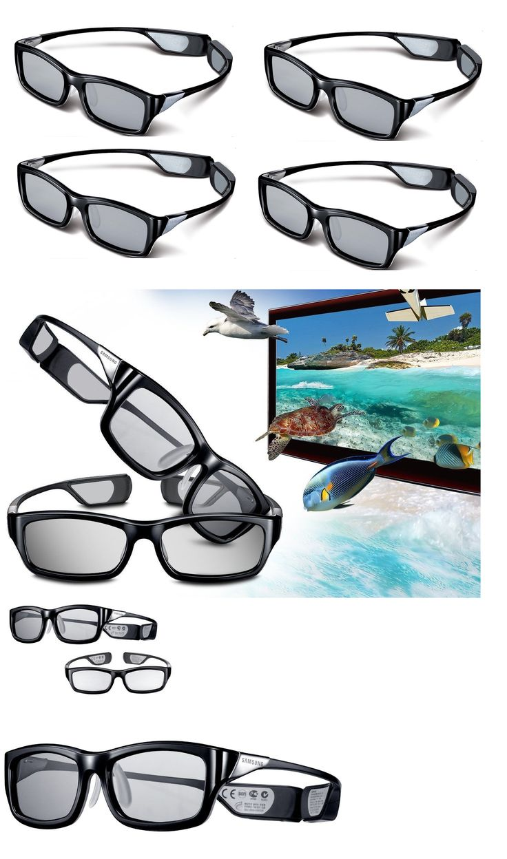 3D TV Glasses and Accessories: Lot 4X 3D Glasses Ssg-5100Gb 5150G Upgrade Samsung 4K Uhd Smart Tv Ju7100 H7150 -> BUY IT NOW ONLY: $98.88 on eBay!