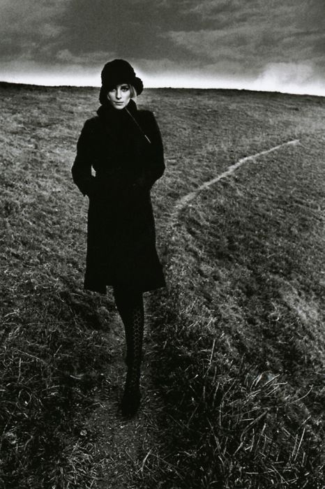 """Lady in Black"" England, 1964 
