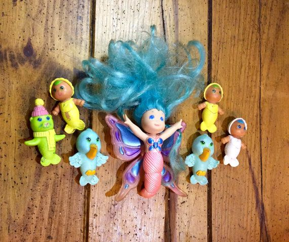1979-1986 Kenner Sea Wees Shimmers Wind Belle Tropigals Pelly
